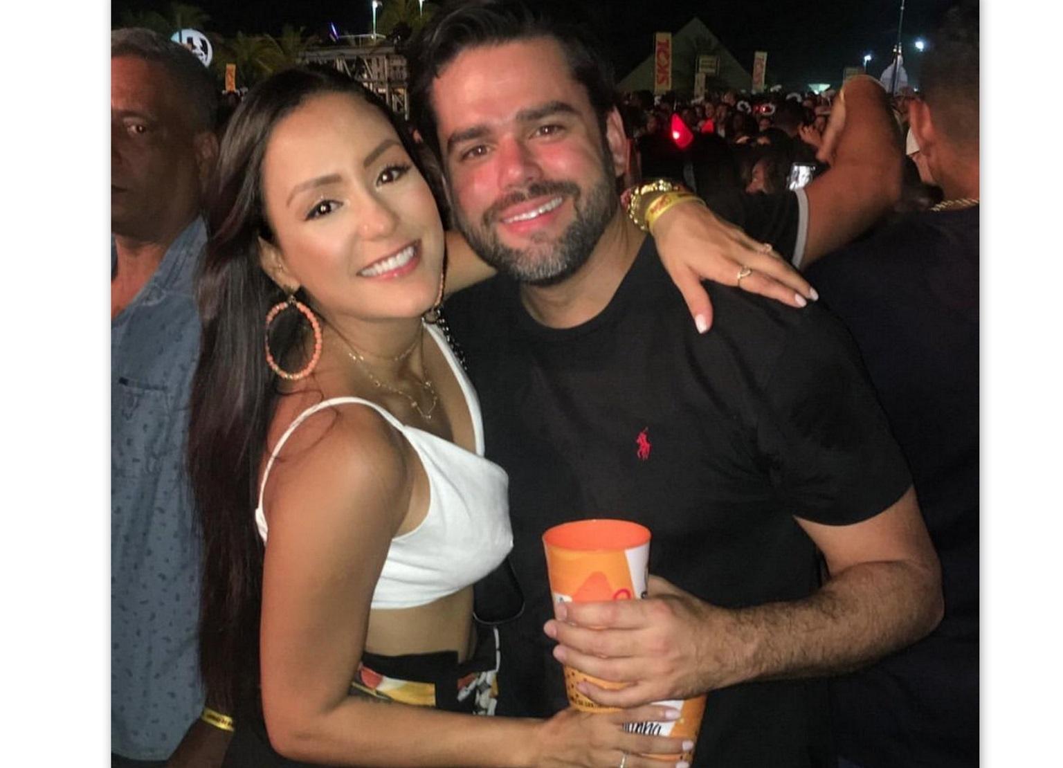 Jéssica e Leonardo Cortizo