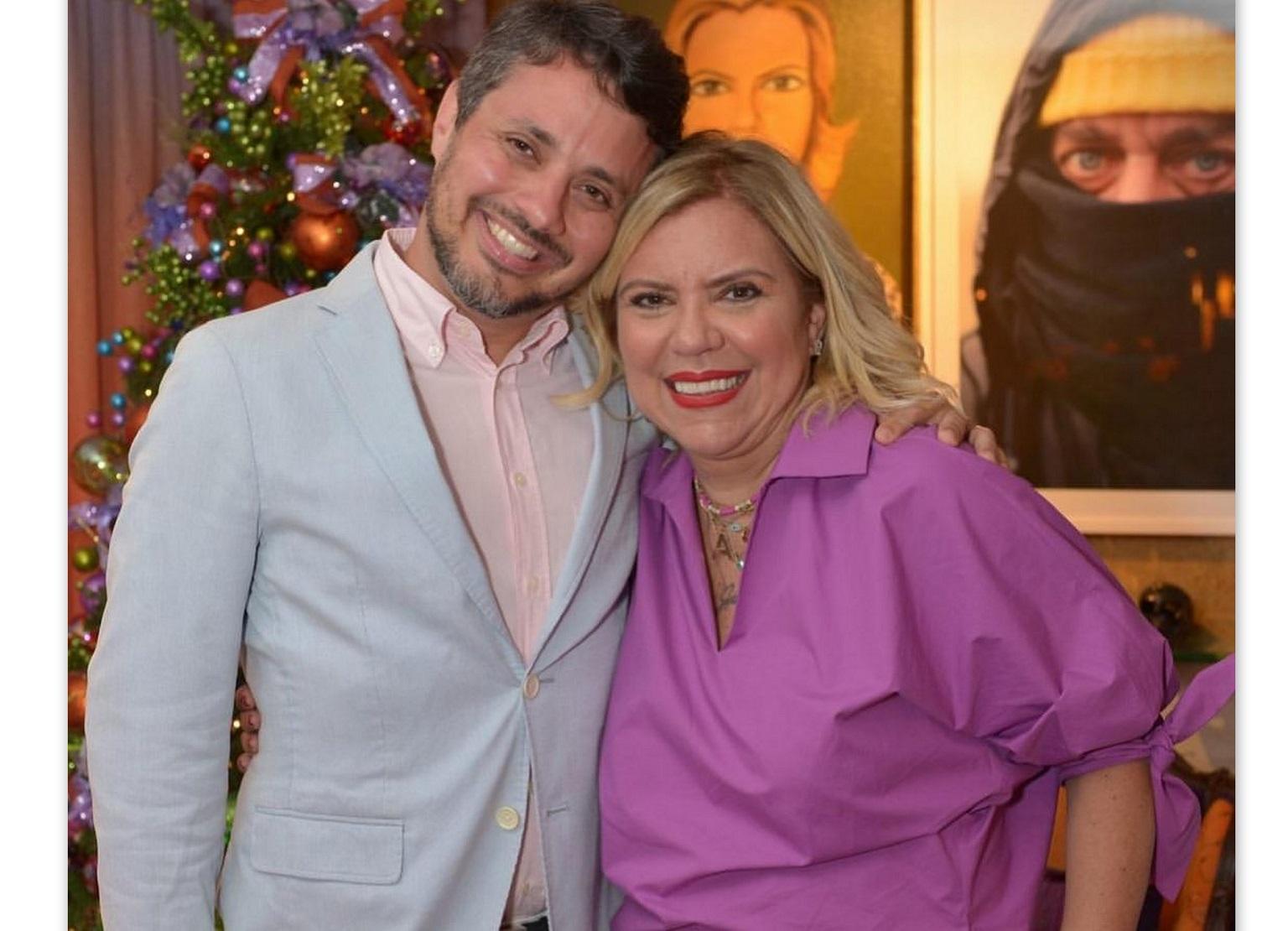 Fasuto Franco e Astrid Fontenelle