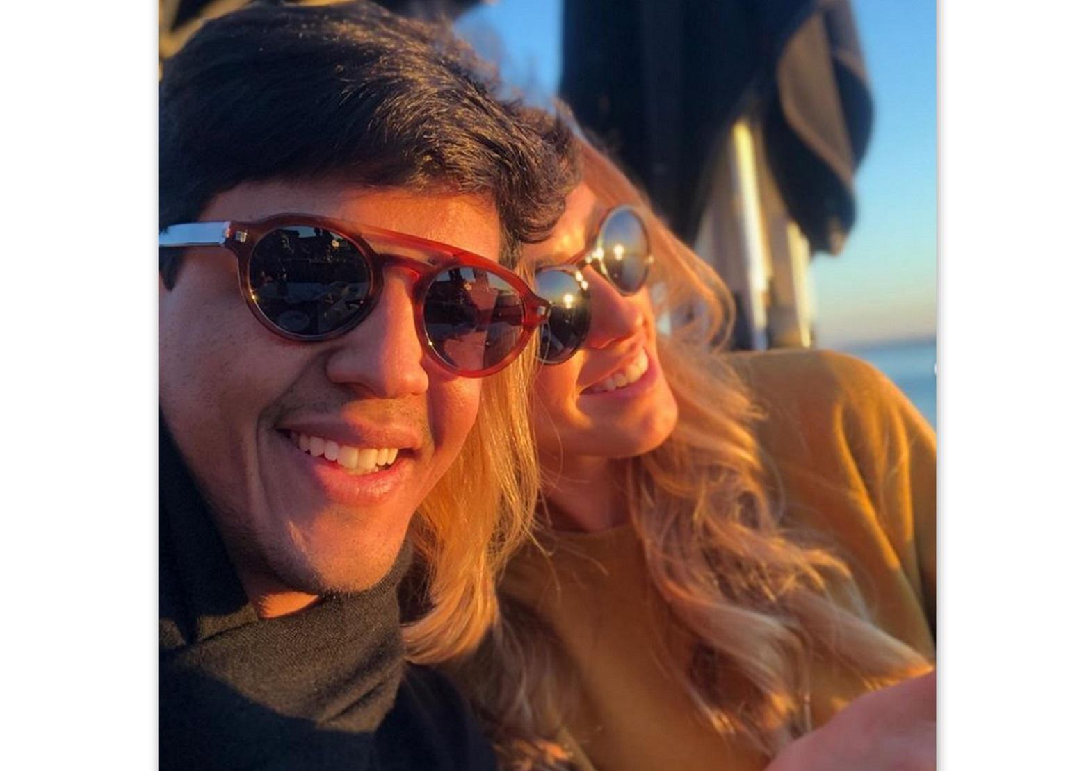 Vitor Lobo e Juliana Aragão