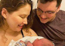 Nasceu Mateo! Filho de Jéssica Leite e Edgard Abbehusen