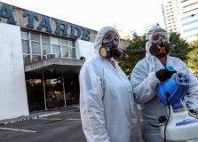 Sede do Grupo A TARDE passa por desinfecção para prevenir a Covid-19