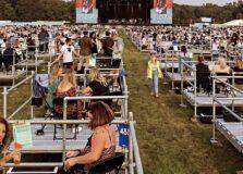 Inglaterra inaugura modelo de show em arena aberta com 'cercadinhos'