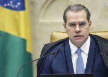 Dias Toffoli foi internado em Brasília