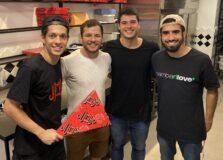Salvador ganha pizzaria com estilo nova iorquino