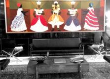 Obra Orixás, de Djanira, foi retirada do Palácio do Planalto