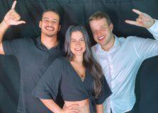 Fernanda Oliveira, Nicolau Eloy e Giovanni Puonzo lançam a agência Code