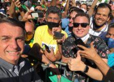 Bolsonaro esteve em Barreiras, na Bahia
