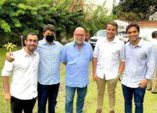Em Itacaré, Zé Victor Oliva se reuniu com jovens empresários e falou sobre o Réveillon Nº1