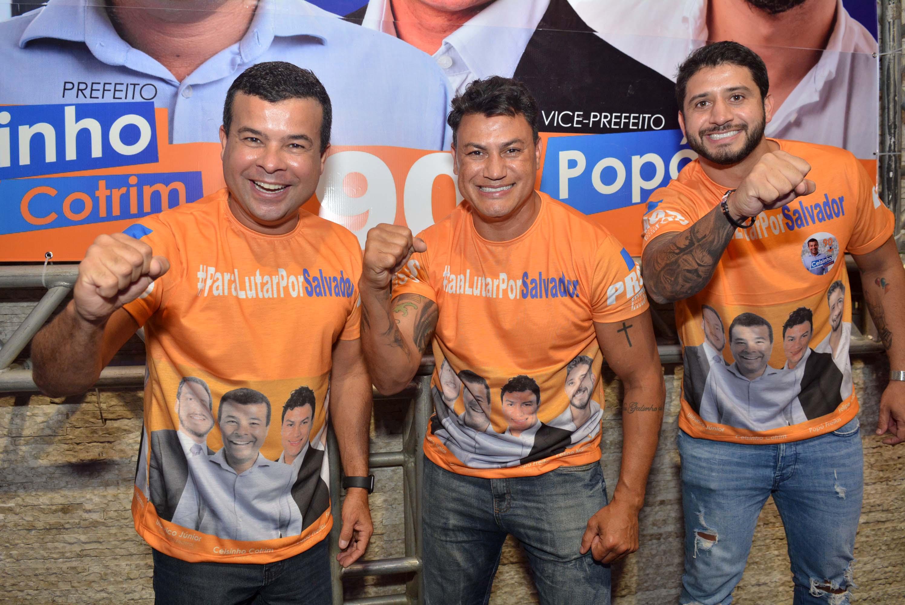 Celsinho Cotrim, Popó e Felipe Manassés