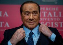 Silvio Berlusconi é internado com Covid-19, na Itália