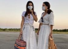 Aletania e Daniela Filomeno desembarcam em Trancoso
