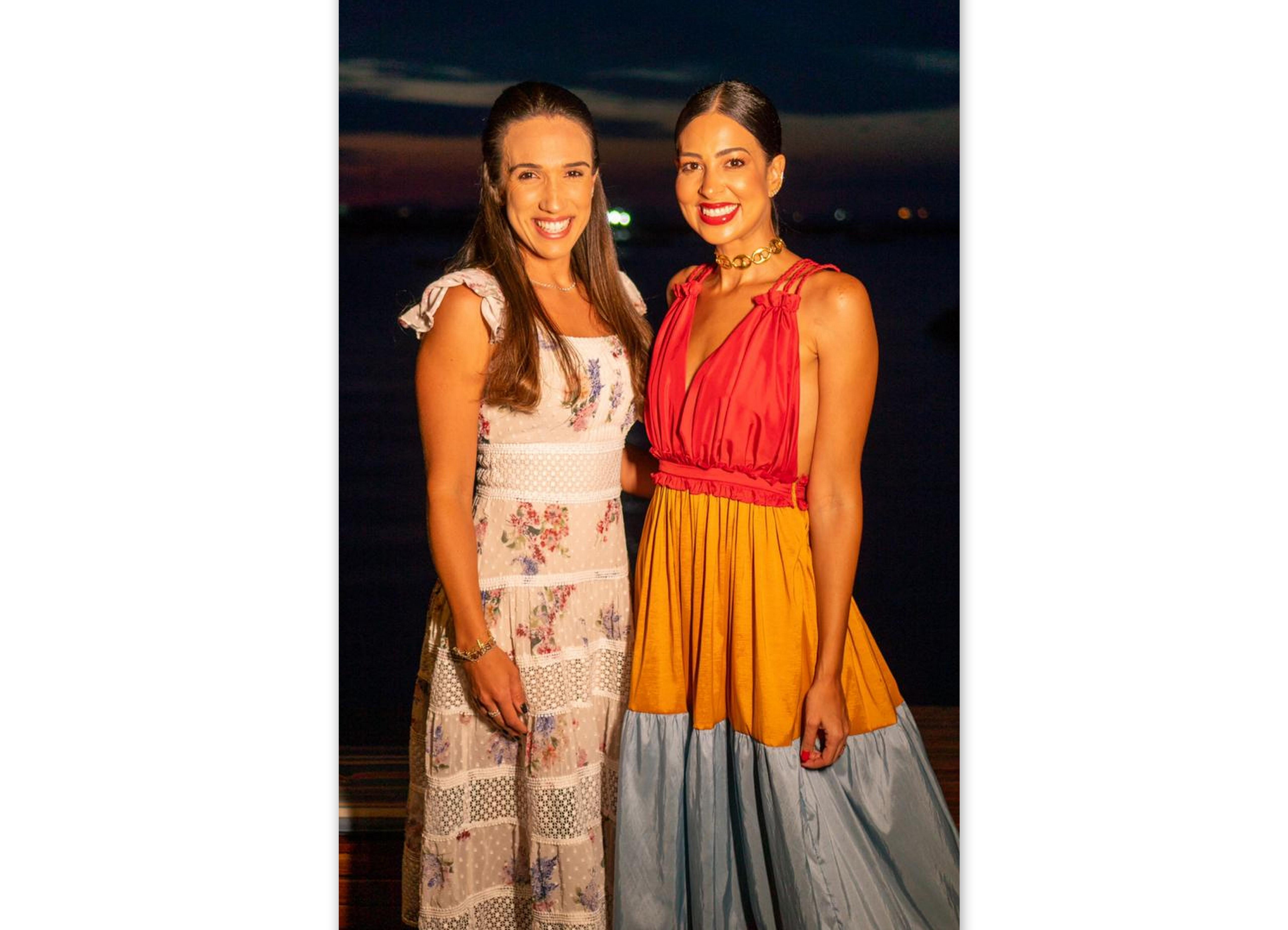 Priscila Carvalho e Renata Rangel