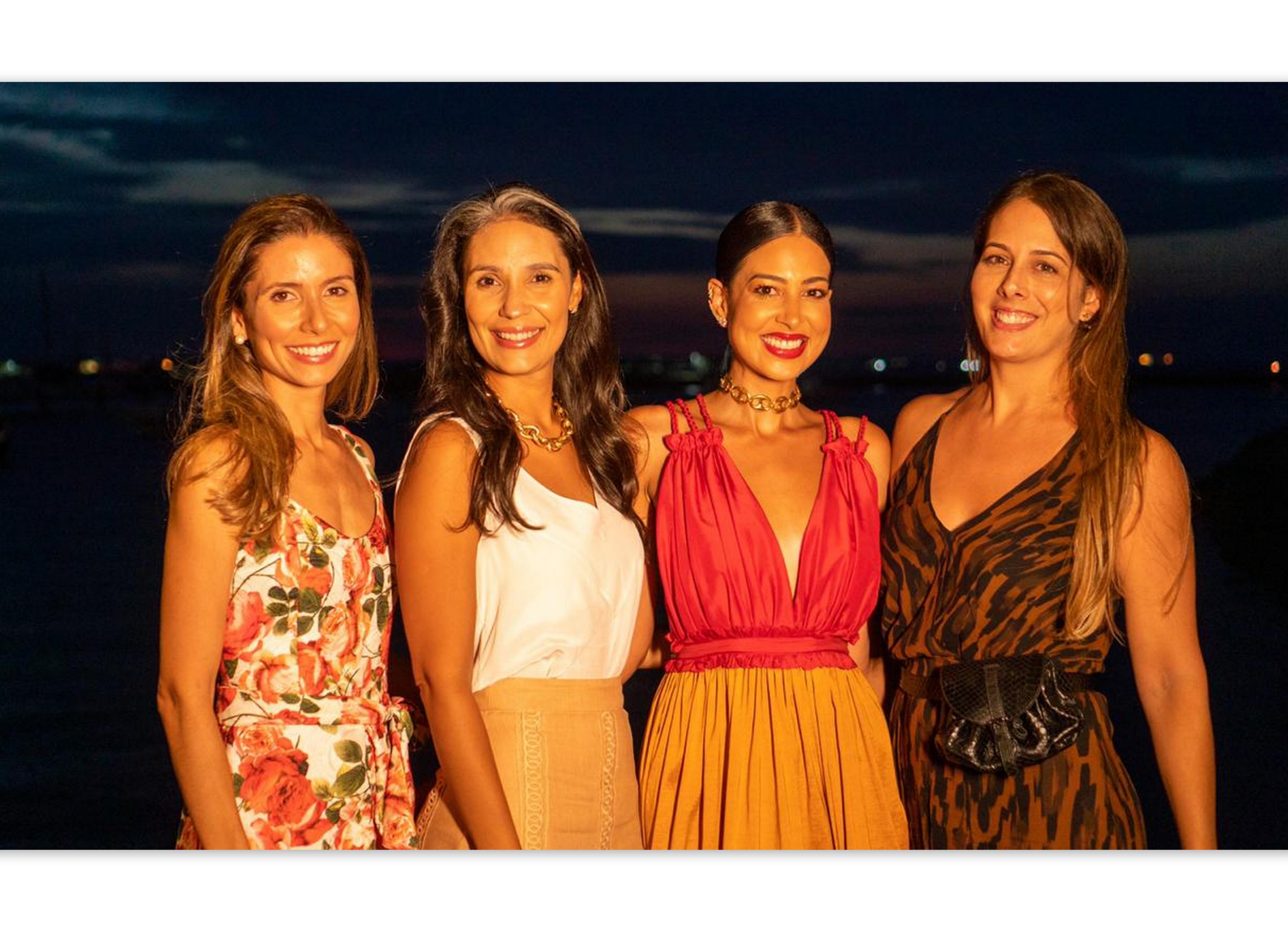 Rafaela Meccia, Marina Gesteira, Renata Rangel e Rafaela Galvão