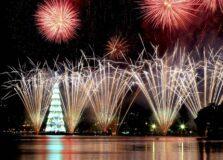 Festa privada de Réveillon está confirmada na Lagoa Rodrigo de Freitas, no Rio de Janeiro