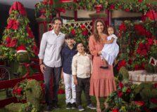 Erica Rusch e Marcos Pimenta estrelam campanha de Natal do Shopping Itaigara