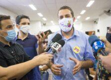Boulos é diagnosticado com Covid e debate na Globo é cancelado