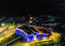 Cerimônia vai marcar reabertura do Farol da Barra