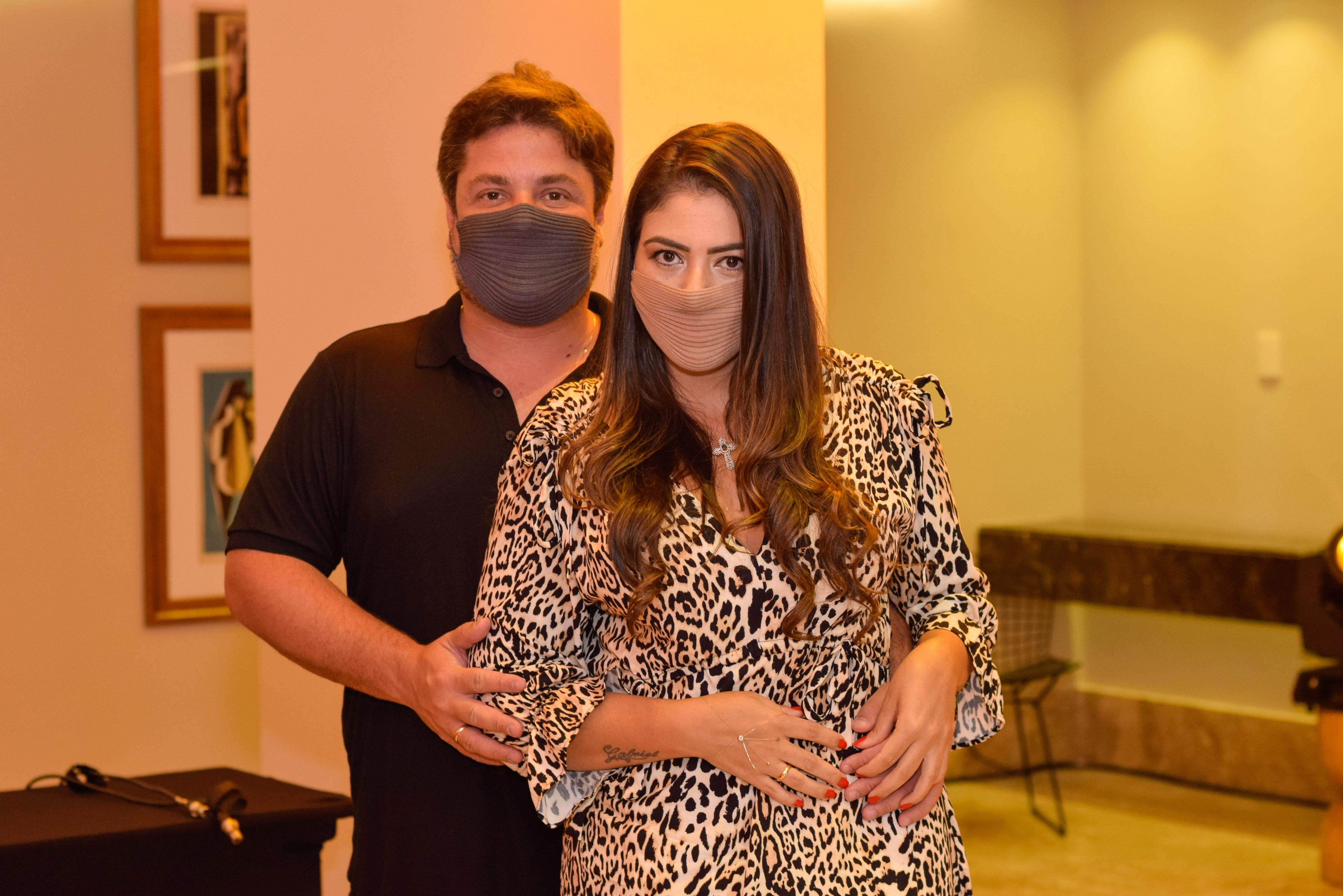 Ricardo Cal e Juliana Tavares