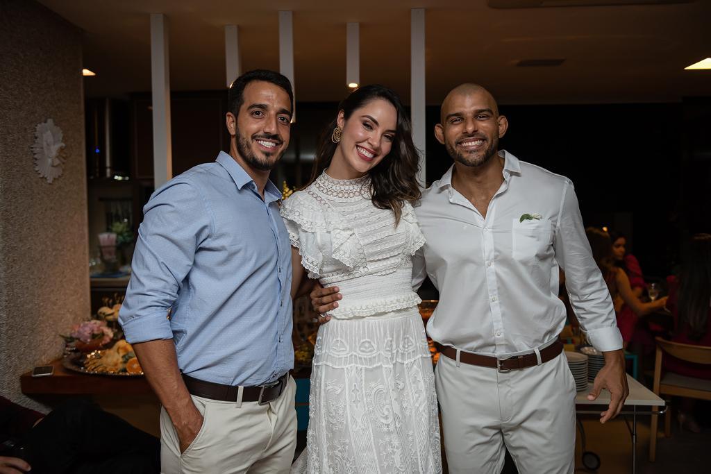 Ana Carolina Porto e Flávio Simas com Castler D'hora
