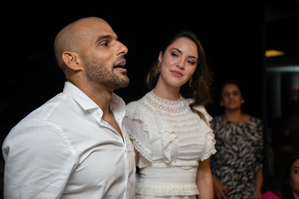 Ana Carolina Porto e Flávio Simas