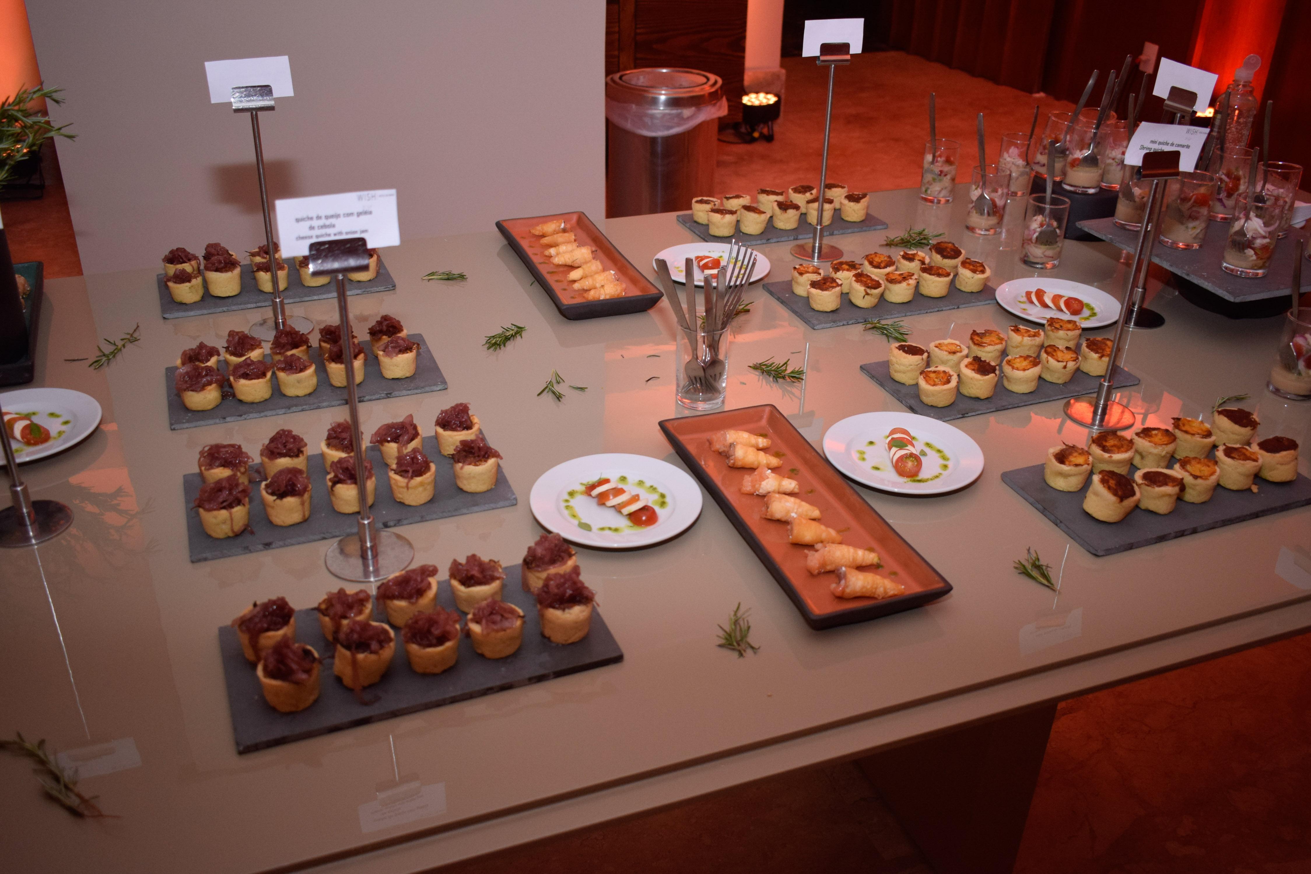 Gastronomia do Wish Hotel da Bahia