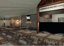 Fotos: cervejaria vai reformar bar que foi destruído por incêndio em Salvador