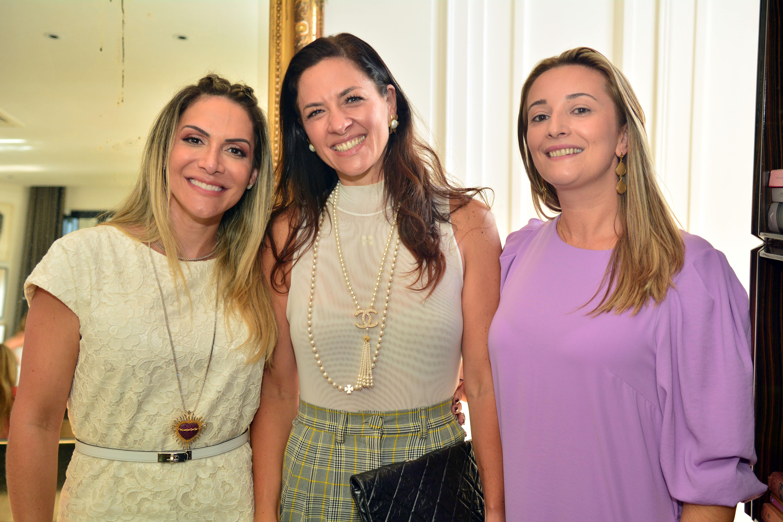 Paula Frank, Manuela Dorea e Sandra Mallman