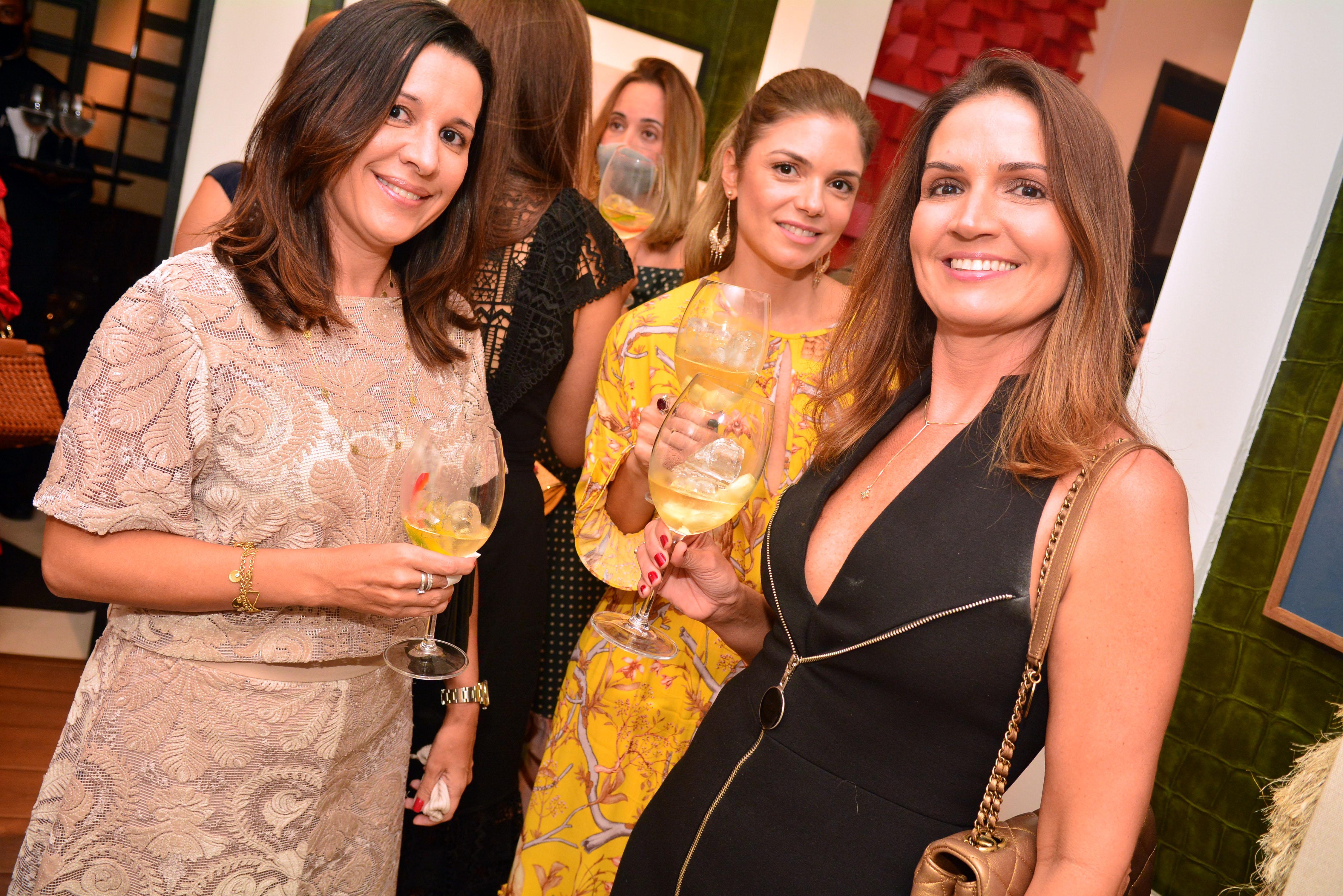Flavia Freire, Janine Tourinho e Carla Maciel