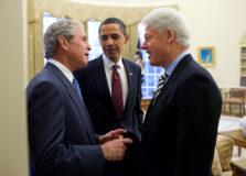 Clinton, Bush e Obama se oferecem para tomar vacina contra Covid-19 em público