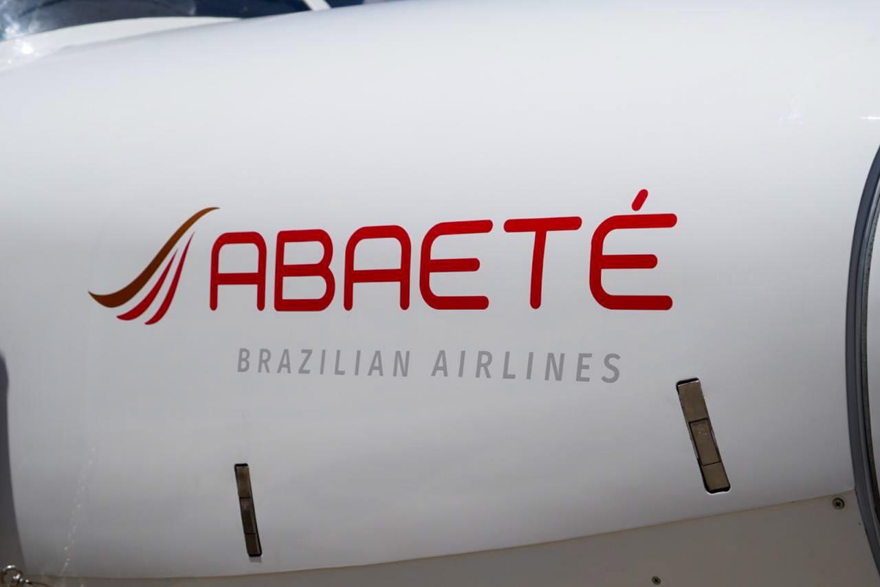 AVião da Abaeté Linhas Aéreas