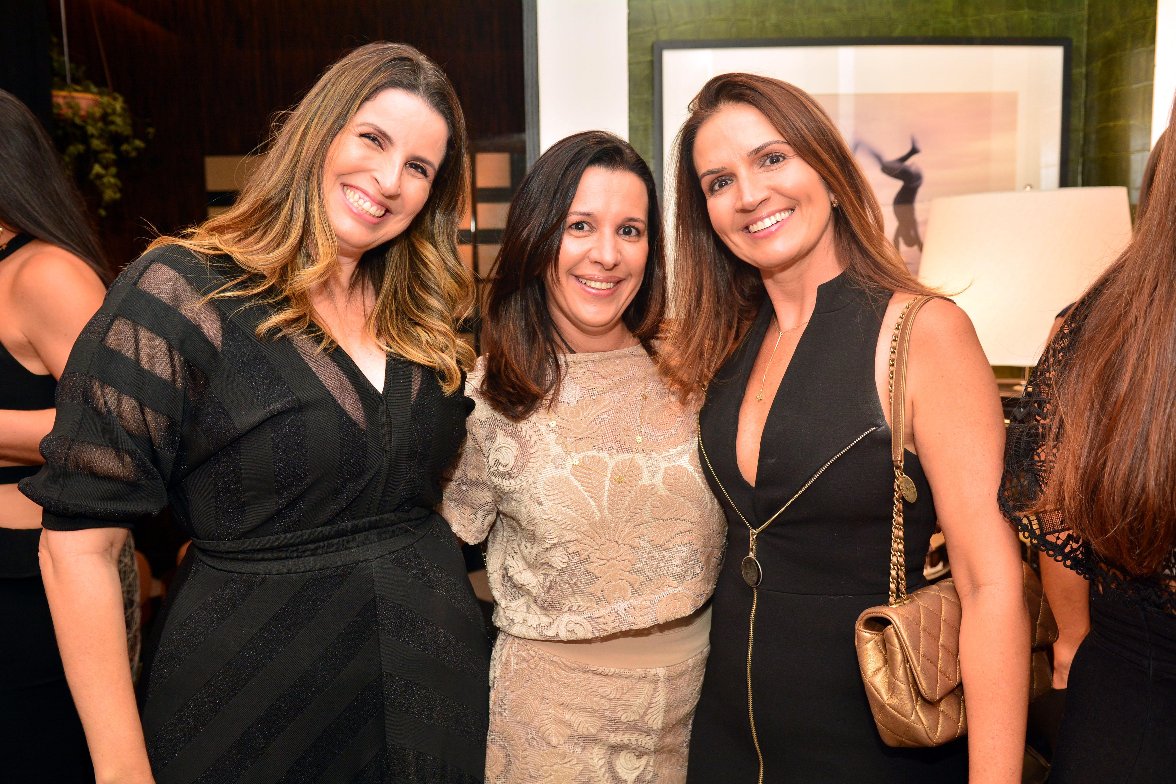 Fernanda Brinço, Flavia Freire e Carla Maciel