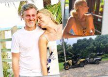 Angélica e Luciano Huck seguem aproveitando as praias do sul da Bahia