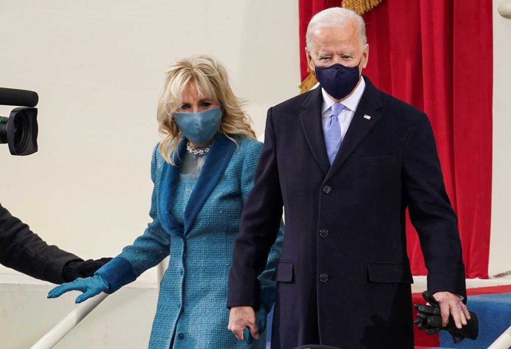 Biden e sua esposa Jill