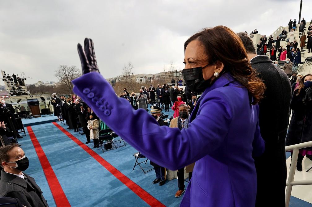 Vice-presidente dos EUA, Kamala Harris