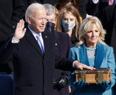 Fotos: Joe Biden e Kamala Harris assumem a presidência dos EUA
