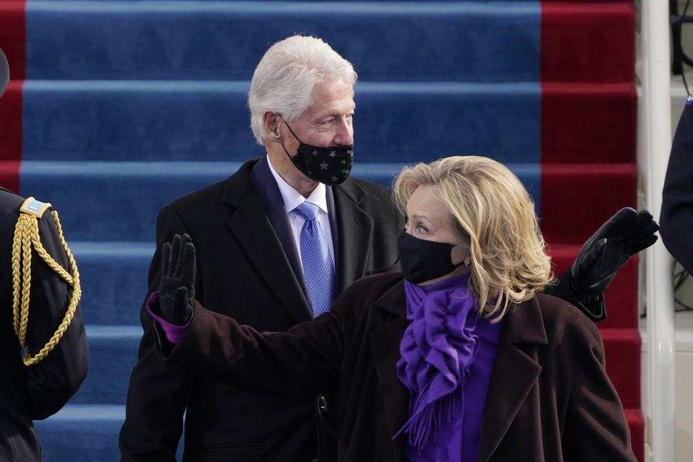 Bill Clinton e Hillary Clinton