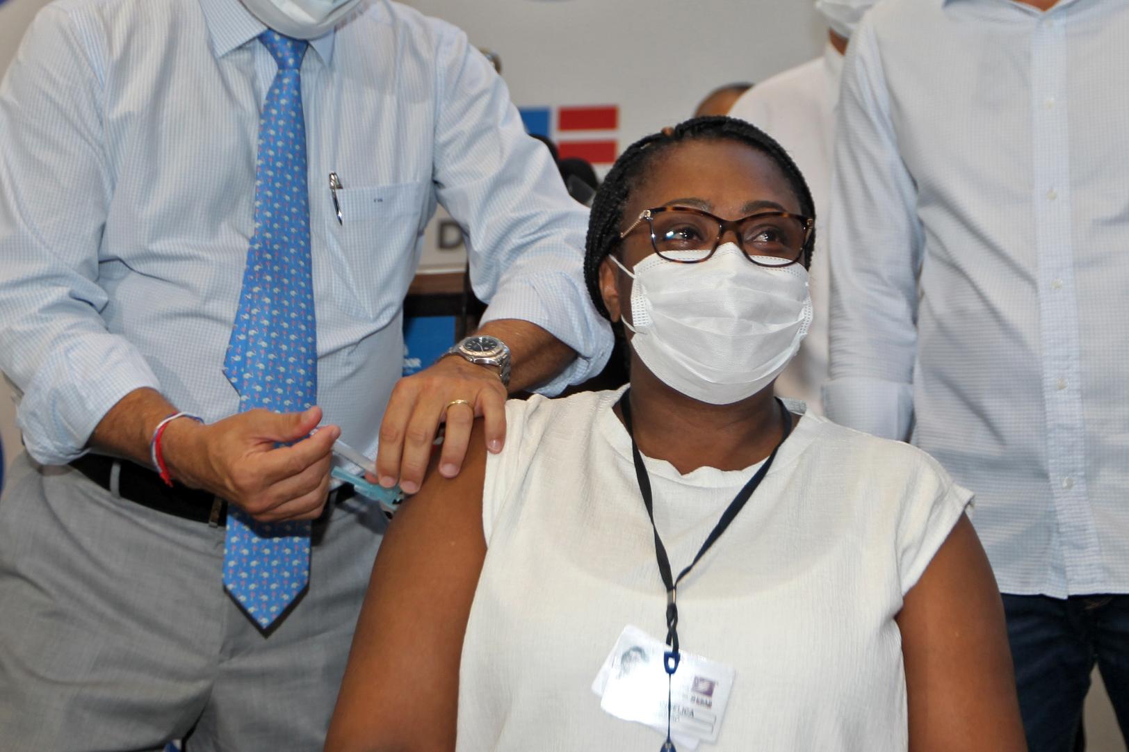A enfermeira Maria Angélica de Carvalho Sobrinha
