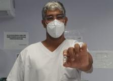 Equipe do Gripário da Ilha de Bom Jesus dos Passos recebeu a vacina contra a Covid-19