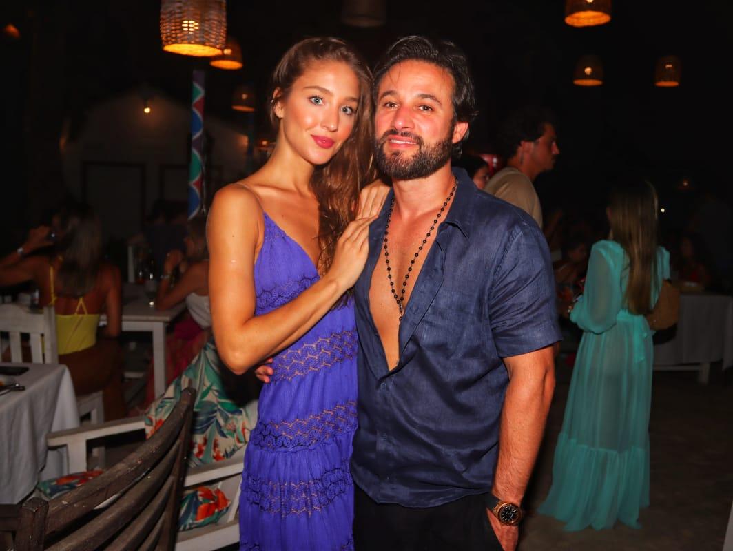 Lara Rodas e Rodrigo Medina