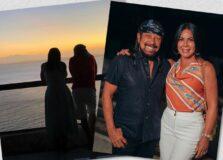 Aninha e Bell Marques celebraram 40 anos de casados com jantar no Fasano