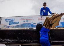Projeto coleta 20 toneladas de lixo em parceria com o Shopping Itaigara