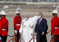 """""""Fraternidade é maior que fratricídio"""", diz papa Francisco no Iraque"""